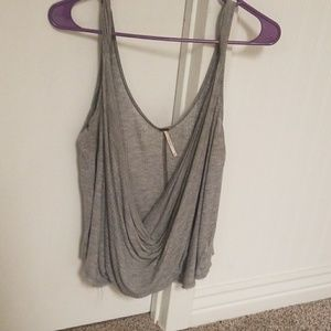 Xs free people gray open front top